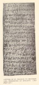 handwriting assissi