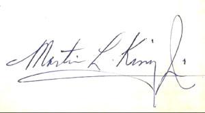 signature alone