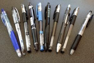 עטים מסוגים שונים