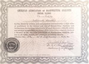 תעודת הסמכות מטעם AAHA